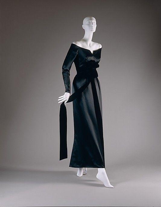 House of Dior Evening Dress, fall/winter 1955-56