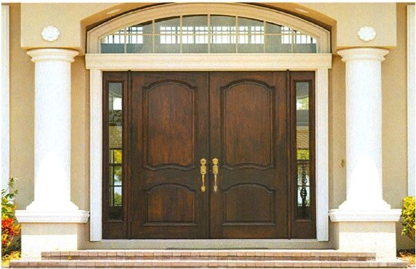 Double Entrance Doors Residential Houses Double Front