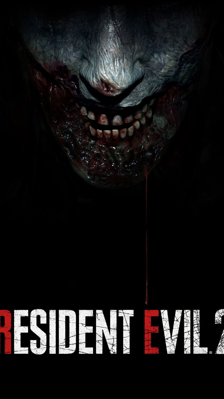 Zombie Dark Poster Video Game Resident Evil 2 720x1280