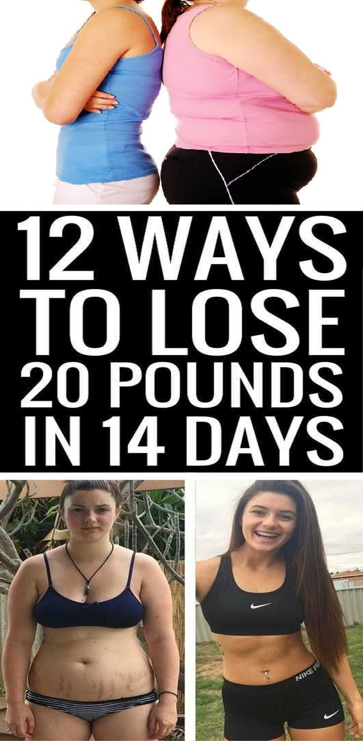 Have to lose 20 pounds