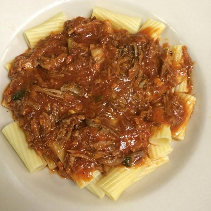 ... Simmered Sunday Ragu with Joe's Kansas City Bar-B-Que Pulled Pork