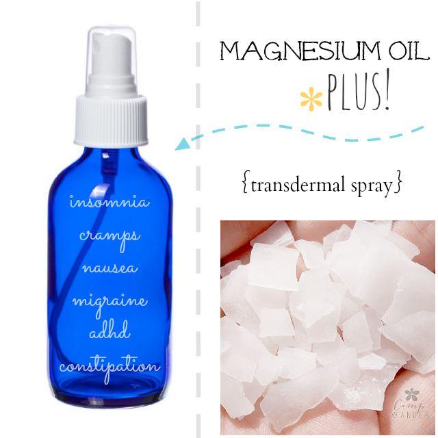 Make Your Own ~ Magnesium Oil Plus!
