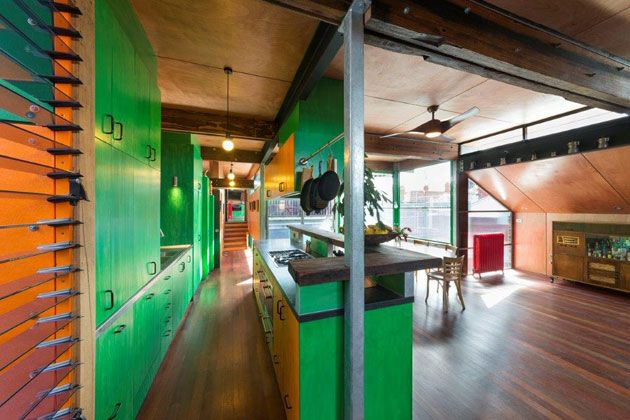 Old, New and Smart Ingredients: S2 Design Mixes a Sustainable Home Renovation