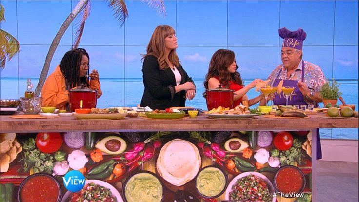 "Chef Pepin Makes Arroz Con Pollo on ""The View"" 