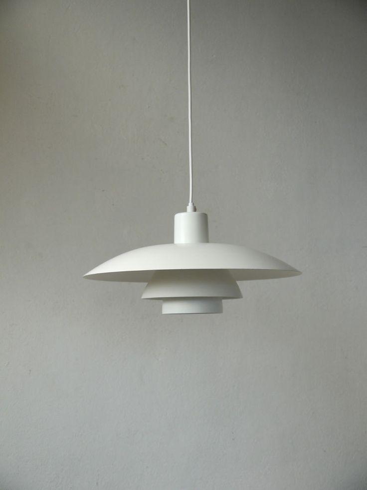 LOUIS POULSEN PH 4/3 danish modern design lamp DÄNEMARK 70er eames jacobsen era in Antiquitäten & Kunst, Design & Stil, 1960-1969 | eBay