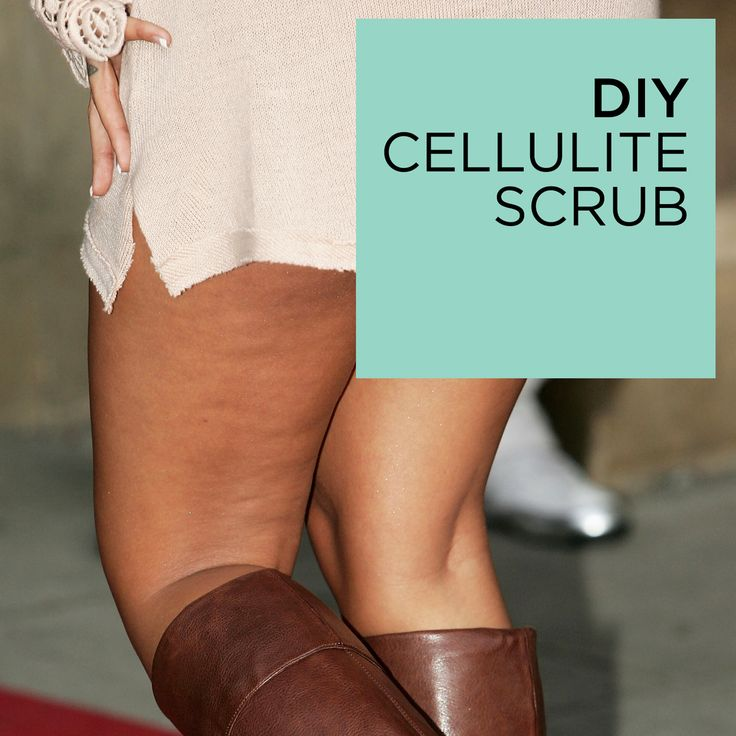 How to Get Rid of Cellulite - DIY Cellulite Scrub