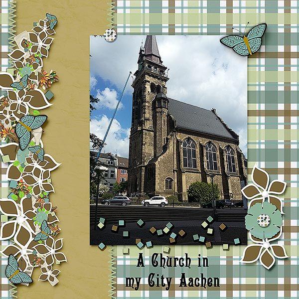 a church in Aachen