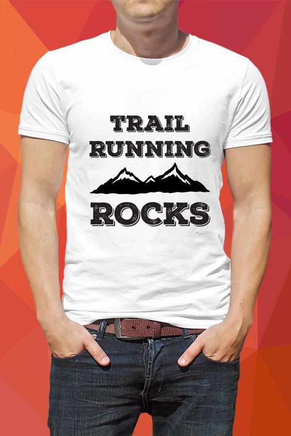 Trail Running Rocks Guys T-shirt - https://www.sunfrog.com/136463349-987632963.html?68704