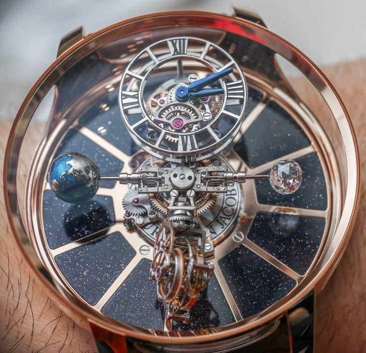 """Jacob & Co. Astronomia Tourbillon Watches Hands-On - by Ariel Adams - see the hands-on video, extensive picture gallery, & read more: http://www.ablogtowatch.com/jacob-co-astronomia-tourbillon-watch-baselworld-2015/ """"Easily one of the most impressive things I strapped to my wrist at Baselworld - The Watch and Jewellery Show 2015 was the completed Jacob & Co. Astronomia Tourbillon watch (as well as the diamond-set Jacob & Co. Astronomia Tourbillon Baguette). There was a very real and very…"""