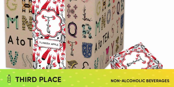 2015 CWWWR AWARD WINNER: 3rd PLACE, NON-ALCOHOLIC - A to Tea