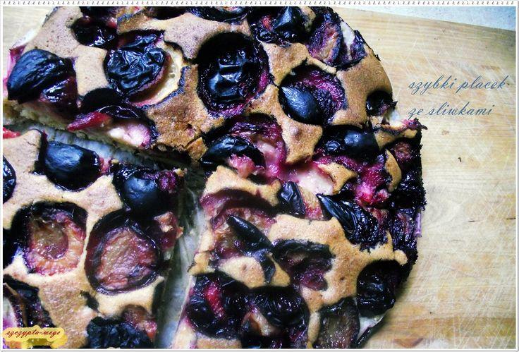 Szybki domowy placek – czas przygotowania 10-15 min. | szczypta-wege przepisy wegańskie i wegetariańskie - zdrowe pomysły na obiad i inne okazje