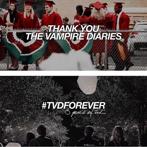 #TVD The Vampire Diaries #TVDForever  I'm so glad I found out about this show, I'm kind of sad it's gonna end after season 8.. but hey' we can still rewatch it over and over again just for the memories :)