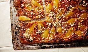 Jeremy Lee's recipe for poached pear and hazelnut galette | King of puddings | Life and style | The Guardian