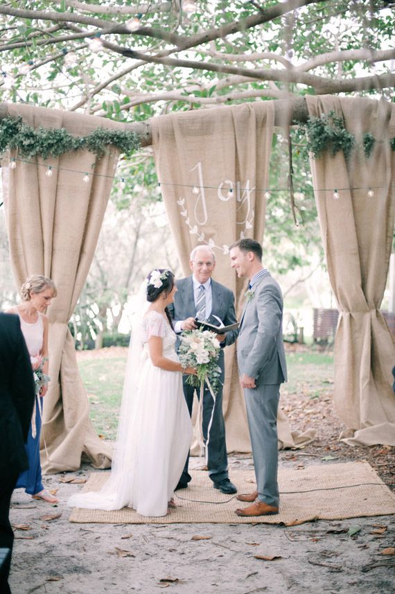 wedding backdrop | photo by Byron Loves Fawn Photography | 100 Layer Cake