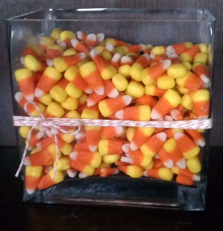 Candy corn centerpiece weddings that i love pinterest