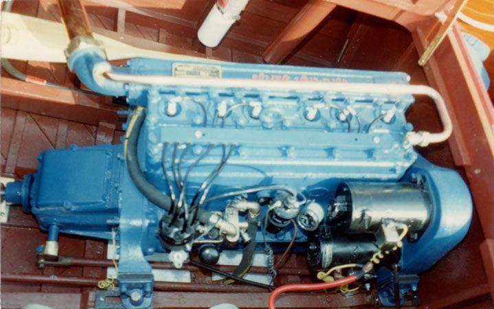 Hacker Craft Boat Engines We Work On Hercules Chris