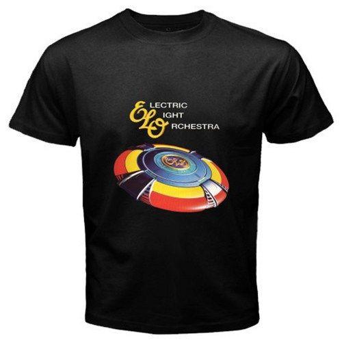 ELECTRIC LIGHT ORCHESTRA ELO Band Very Best LogoUnisex Black T-Shirt