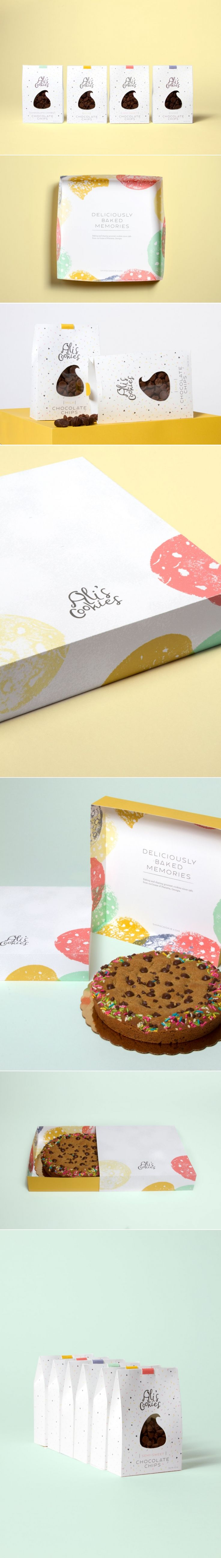 This Cookie Packaging Comes With Some Serious Cheer — The Dieline - Branding & Packaging Design