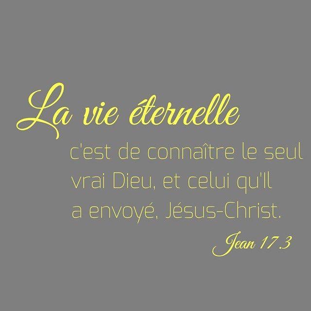 Jean 17: 3