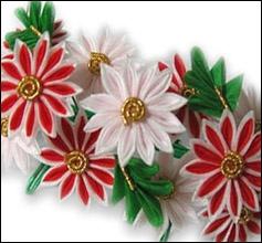 #kanzashi #flower #fabric