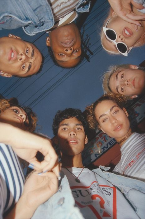 Guess Originals X ASAP Rocky Collection Campaign - The Dapifer style | trending | summer | orange | hair | stunning | retro | new york | @lulusxo