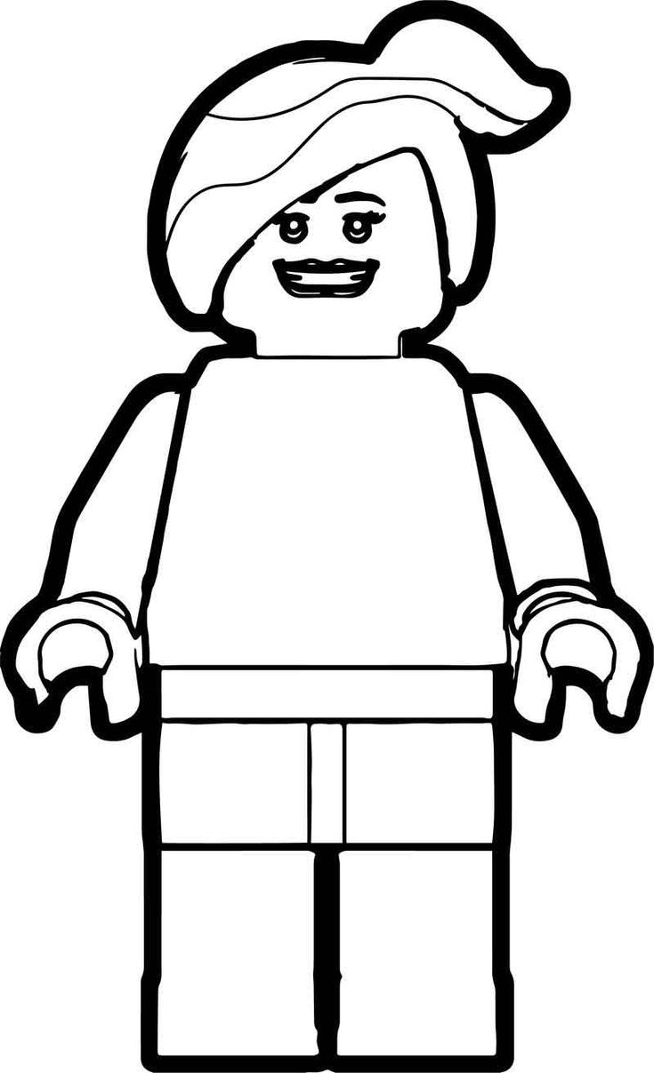 Lego Woman Coloring Page | Lego coloring pages, Halloween ...
