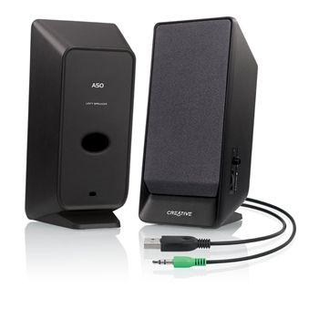 CreativeA50 2.0 USB Black