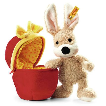 The Easter Bunny is coming! Prepare your kids and your home with plush bunnies by high-quality German brand Steiff