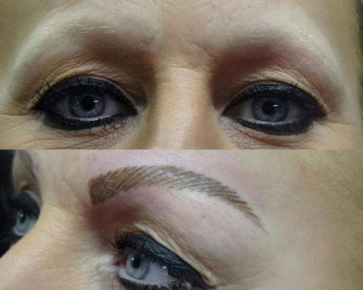 Semi Permanent Makeup Before and After Pictures