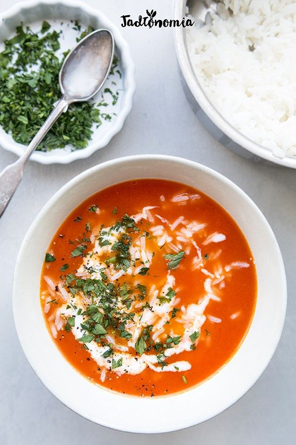 Pomidorowa ze świeżych pomidorów » Jadłonomia · wegańskie przepisy nie tylko dla…