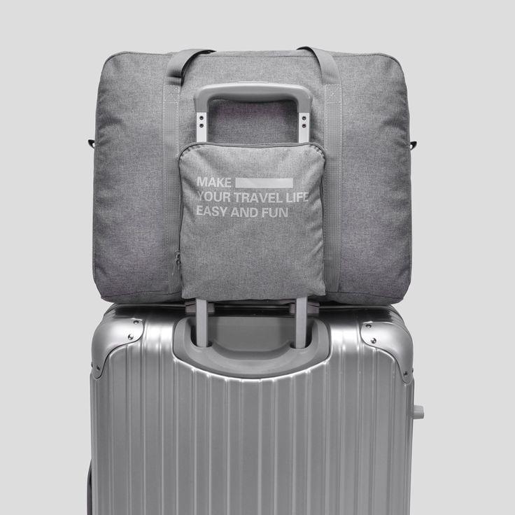 New Fashion WaterProof Travel Bag Large Capacity Bags Women Nylon Folding Luggage Unisex Travel Handbags Zipper Portable Totes
