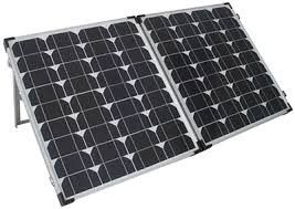 Sierra Wave™ 120-Watt Solar Collector W/ Controller
