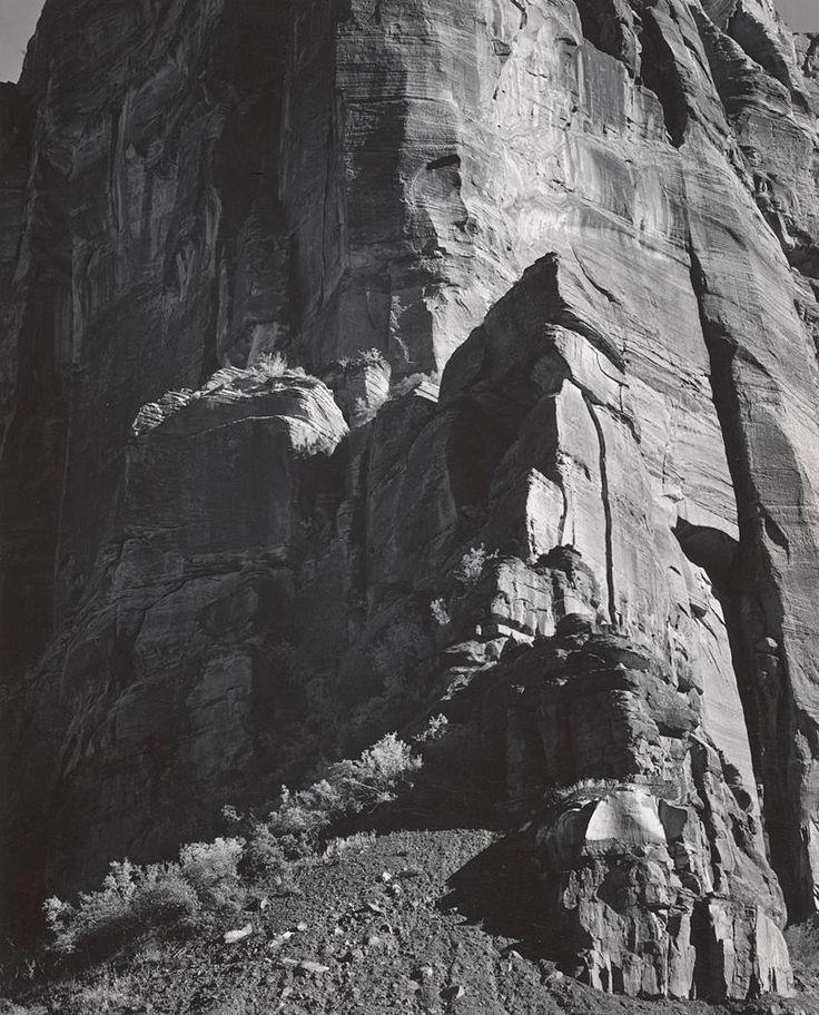 Cliffs in Zion National Park (ca. 1942)