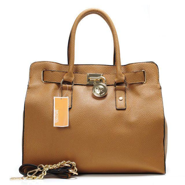 Michael Kors Outlet Hamilton Large Beige Totes $67.99 new season handbags.