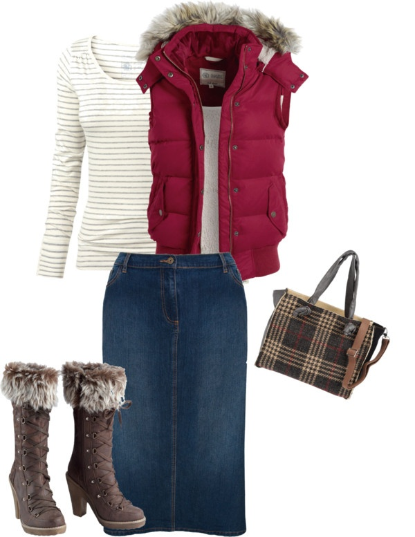 """""""winter's walk"""" by aaronjillthomas on Polyvore............i could do with a different pair of shoes! :)"""