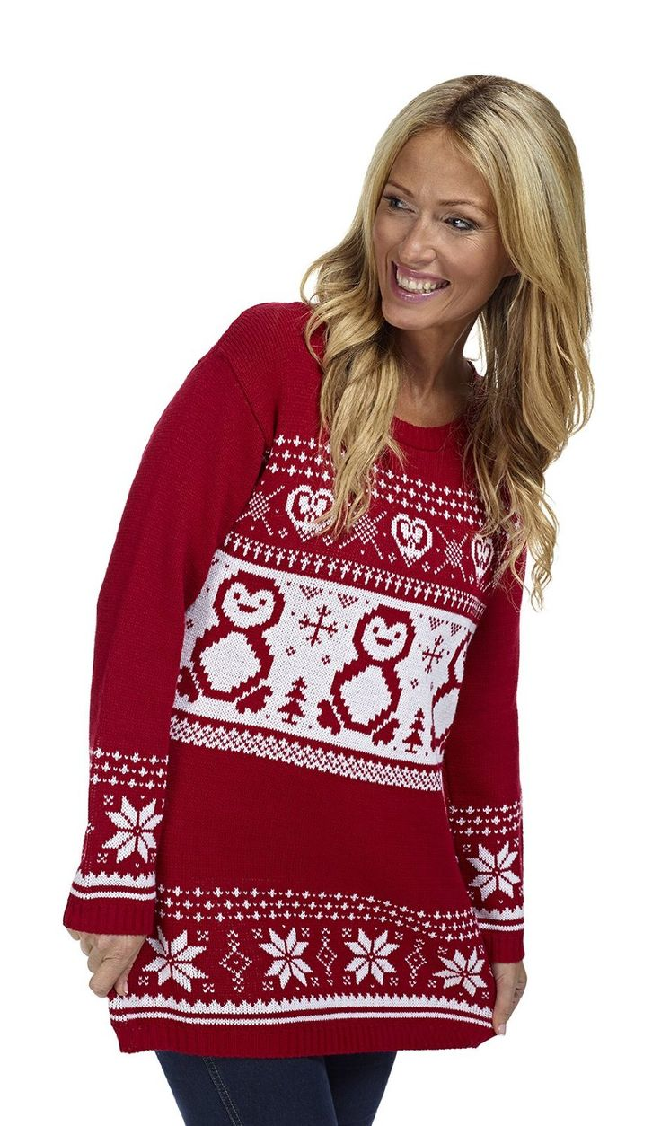 Ladies Women Knitted Rudholph Red Xmas Christmas Jumper Sweater Top size 28 30 See more like this Unisex's Men Women's Santa Xmas Christmas Novelty Fairisle Retro Jumper Sweater .