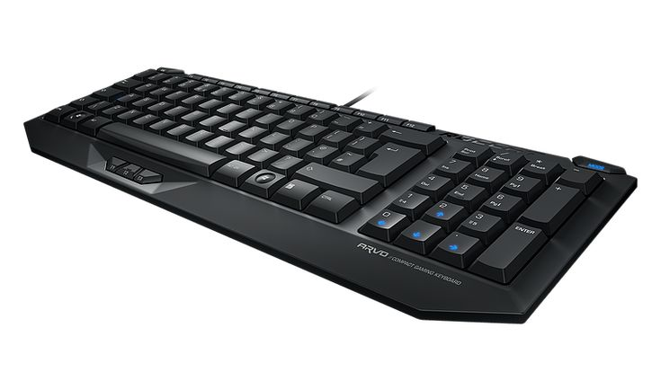 bit-electronix ROCCAT Arvo Compact Gaming Keyboard (FRA Layout - AZERTY) B-WARE: Category: PC & Konsolen Zubehör >…%#Quickberater%