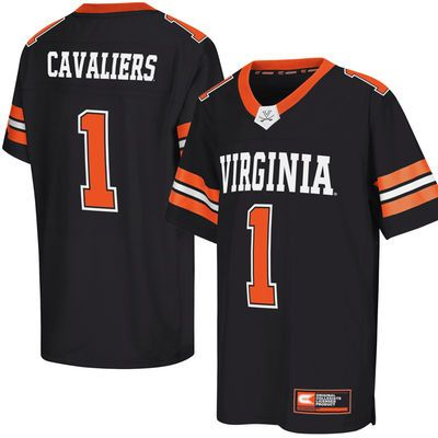 Virginia Cavaliers Colosseum Youth Football Jersey - Navy