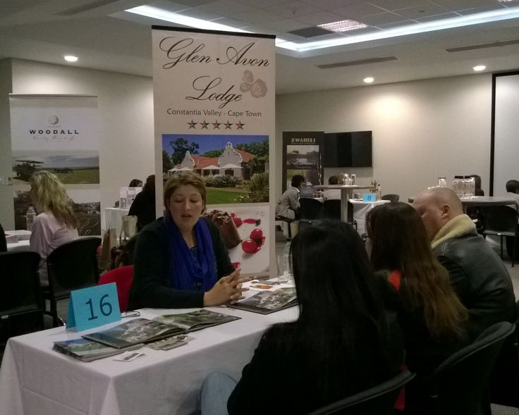 Glen Avon Lodge in the Constantia Winelands presenting at the Exclusive Getaways Johannesburg Travel Workshop, July 2014