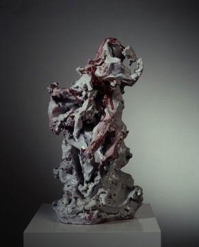 Lucio Fontana.  http://www.artexperiencenyc.com/social_login