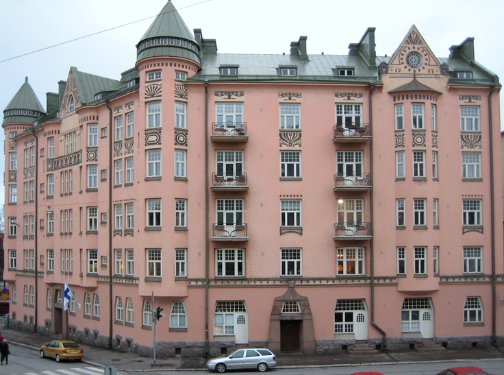 Ihantola is a jugend style building in Helsinki, Finland, built in 1905–1907. It was designed by O. E. Koskinen.