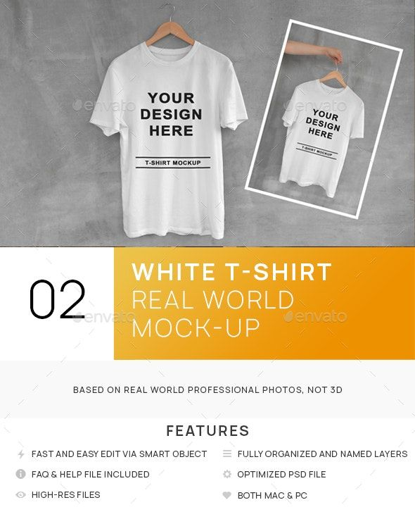 Download White T Shirt On Hanger With Concrete Background Mockups In 2020 Shirt Mockup Tshirt Mockup Concrete Background