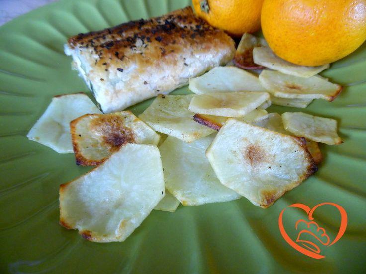 Chips di patate al forno (no ricetta)