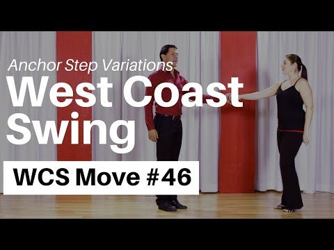 West Coast Swing Anchor Variations // WCS Lessons - YouTube