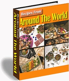 In Volume 1 of Recipes From Around The World you will find over 500 tasty recipes from Germany, Greece, Ireland, France and Russia. Tasty recipes like, Galantine Of Chicken from France, Greek Stifado With Feta Cheese Crust, Esterhazy Rostbraten (Beef Sirloin A La Esterhazy) from Germany, Real Irish Stew and Basturma (Georgian Pomegranate Marinated Grilled Lamb) from Russia.