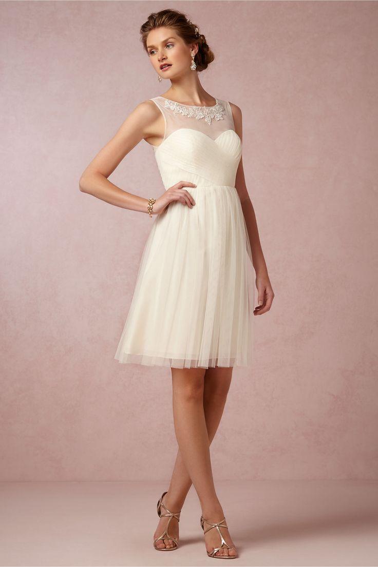 Simple BHLDN Chloe Style Size Wedding Dress