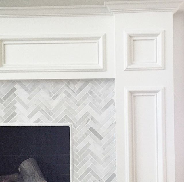 best 25 herringbone fireplace ideas on white