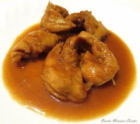 INGREDIENTES:   500 gr. de solomillos de pollo 5 dientes de ajo 50 ml. de zumo de limón 70 gr. de miel 70 ml. de salsa de soja 50 ml. de a...
