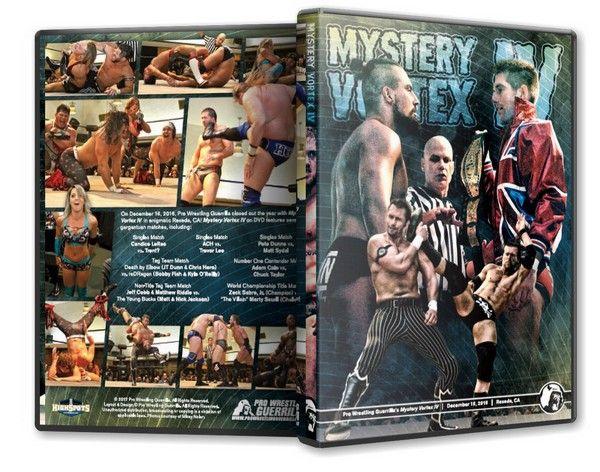 Pro Wrestling Guerrilla - Mystery Vortex IV Blu-Ray