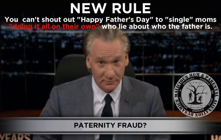 New Rule- Paternity Fraud